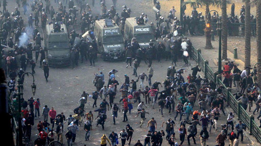 Detenidos 267 manifestantes en los últimos disturbios en El Cairo