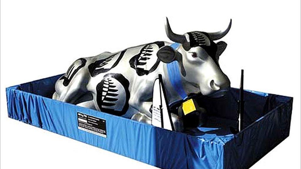 Las vacas inundan Madrid