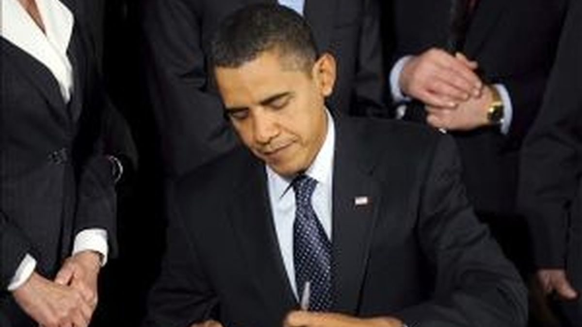 Barack Obama ha declarado la gripe A emergencia nacional. Foto: EFE