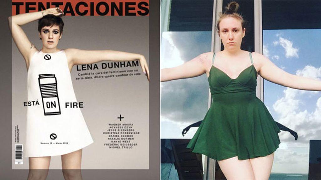 #Guerraalphotoshop: ¡Lena Duhan se hace un Inma Cuesta: 'ese no es mi cuerpo'!