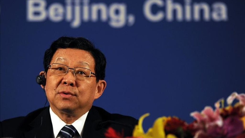 El ministro chino de Comercio, Chen Deming. EFE/Archivo