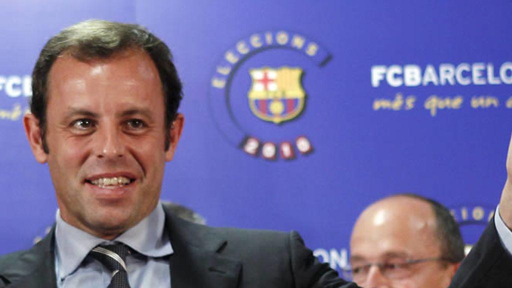 Sandro Rosell, presidente del Barça