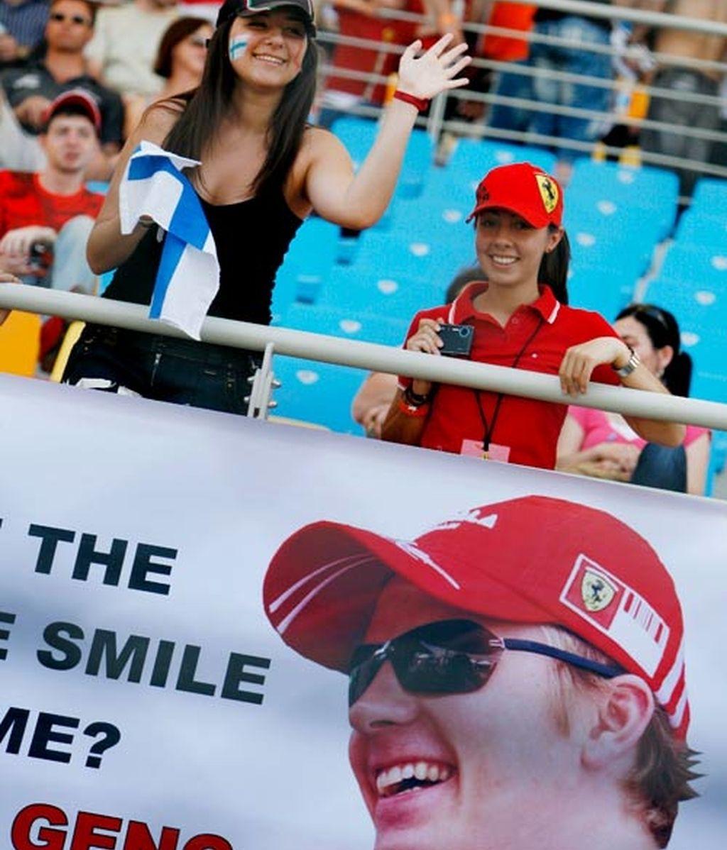 Las chicas del Gran Premio de Turquía