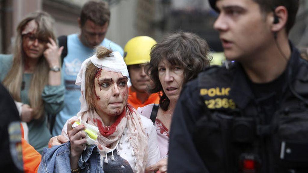 Unos 40 heridos en una explosión en Praga