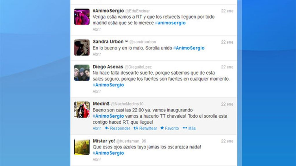 Camapaña #Ánimo Sergio