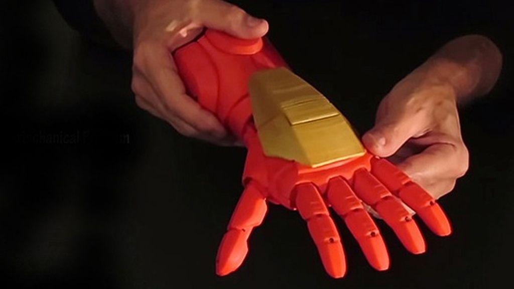 Prótesis para niños inspiradas en 'Iron Man'