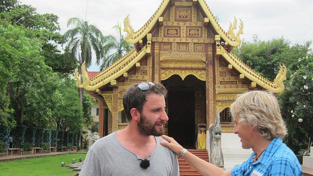 Dani Rovira, un novato en Tailandia