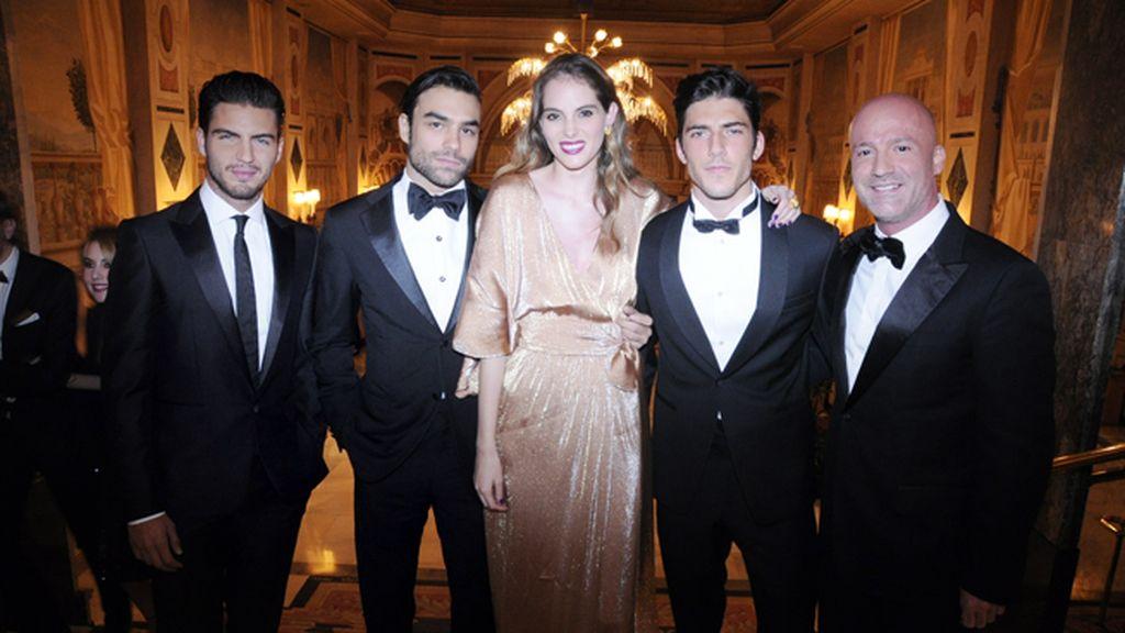 Maxi Iglesias, Diego Osorio, Marina Jamieson, Axel Pons y Eduardo Sayas