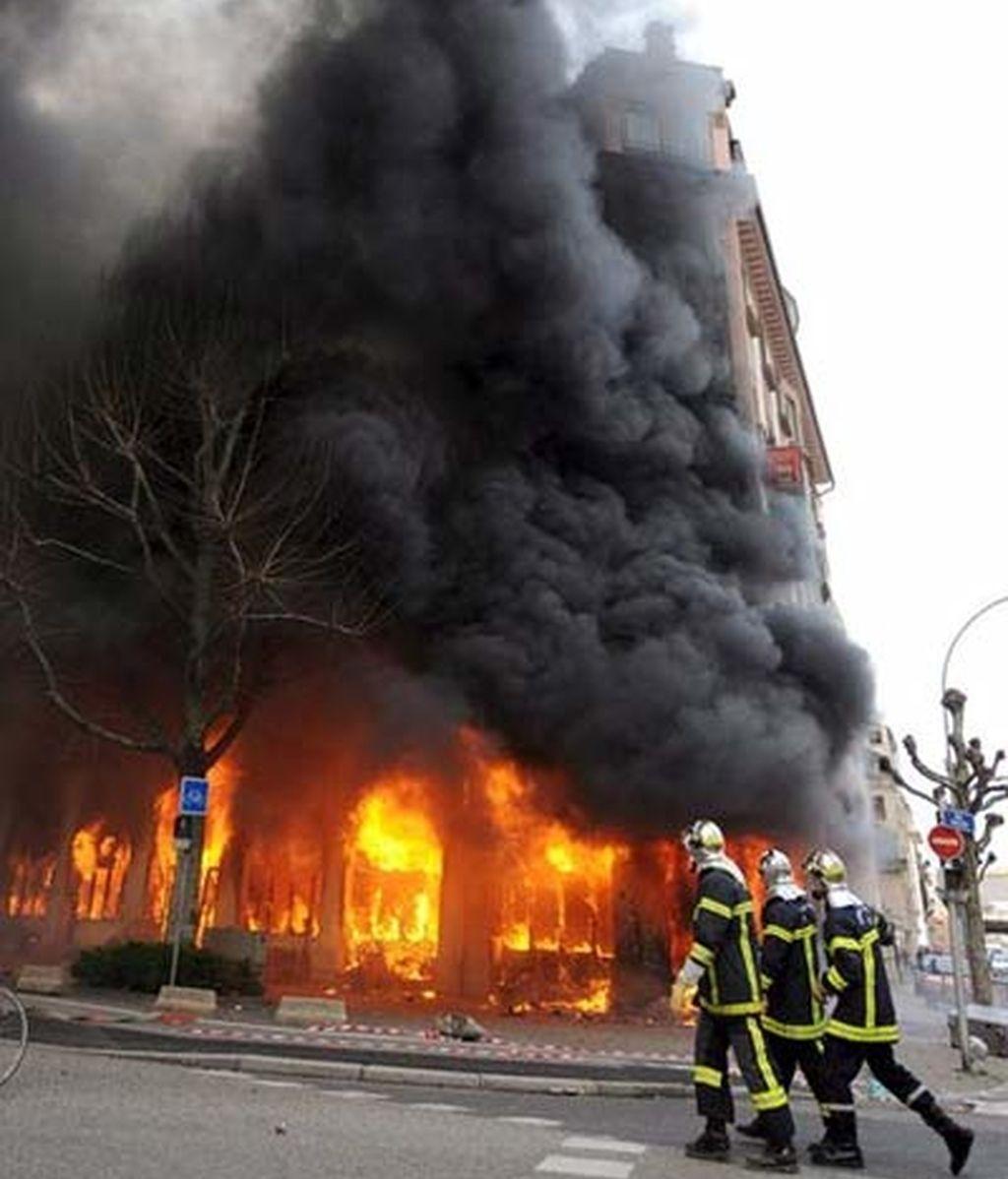 Incidentes en Estrasburgo