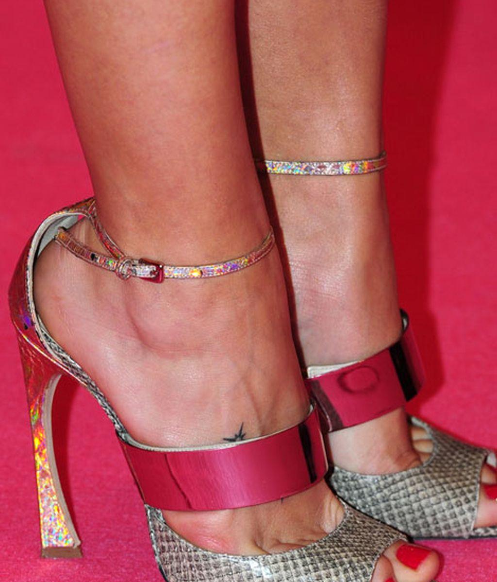 Los zapatos de Patricia Montero