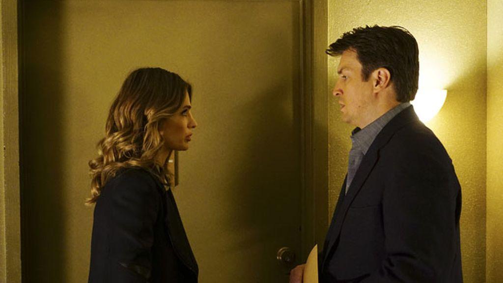 Primeras fotos del capítulo 'El contacto' de 'Castle'