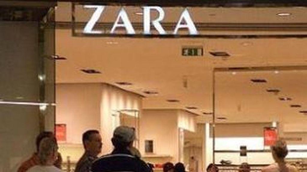 La tienda Zara de Inditex