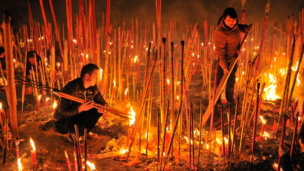 Celebración del nuevo año chino