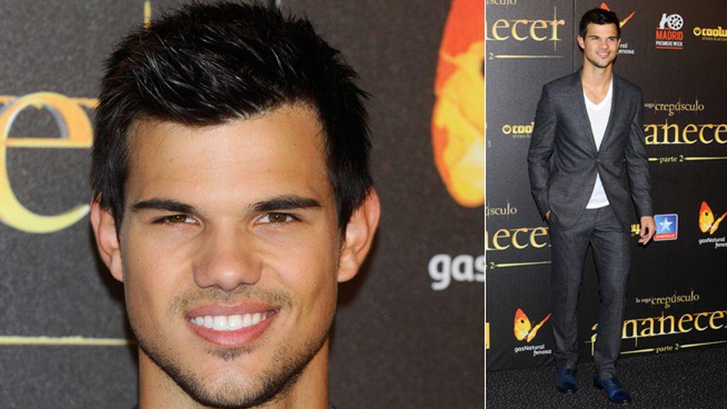 El hombre-lobo más apuesto, Taylor Lautner