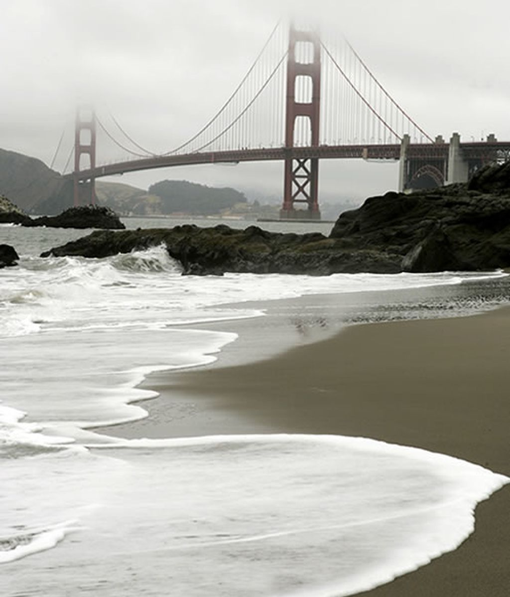 Playa de Baker Beach, en San Francisco