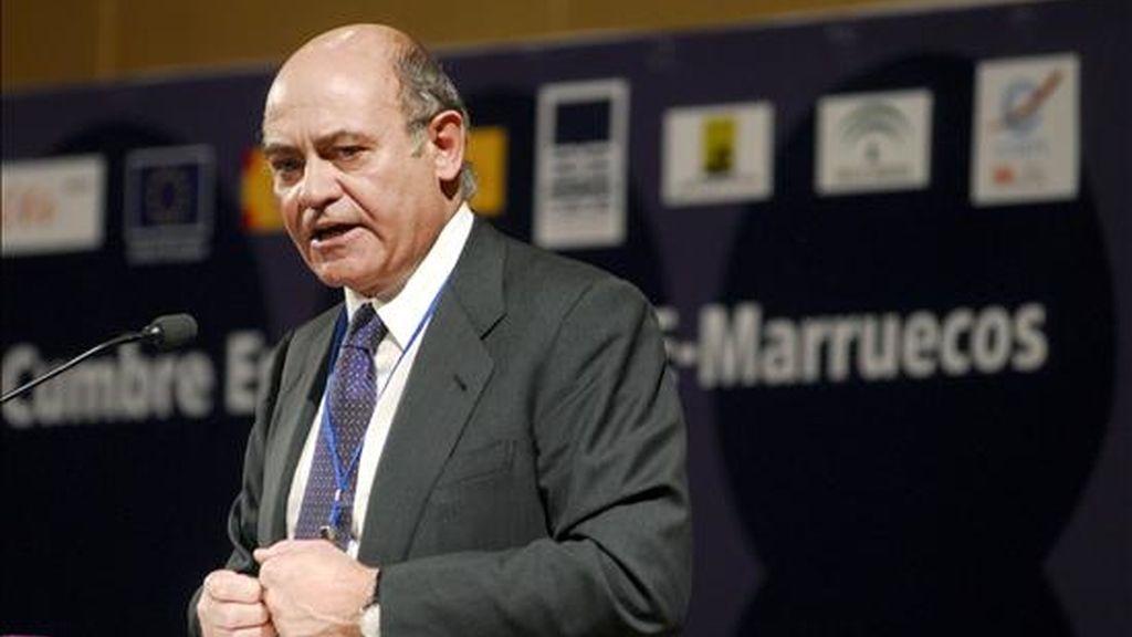 El presidente de la CEOE, Gerardo Díaz Ferrán. EFE/Archivo