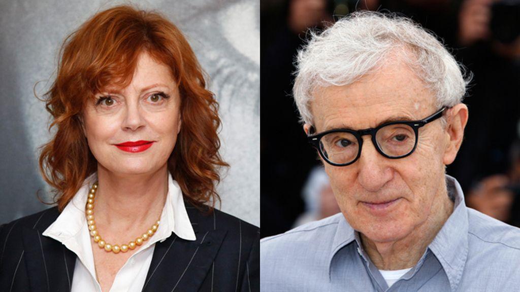 "Susan Sarandon, sobre Woody Allen: ""Abusó sexualmente de una niña"""