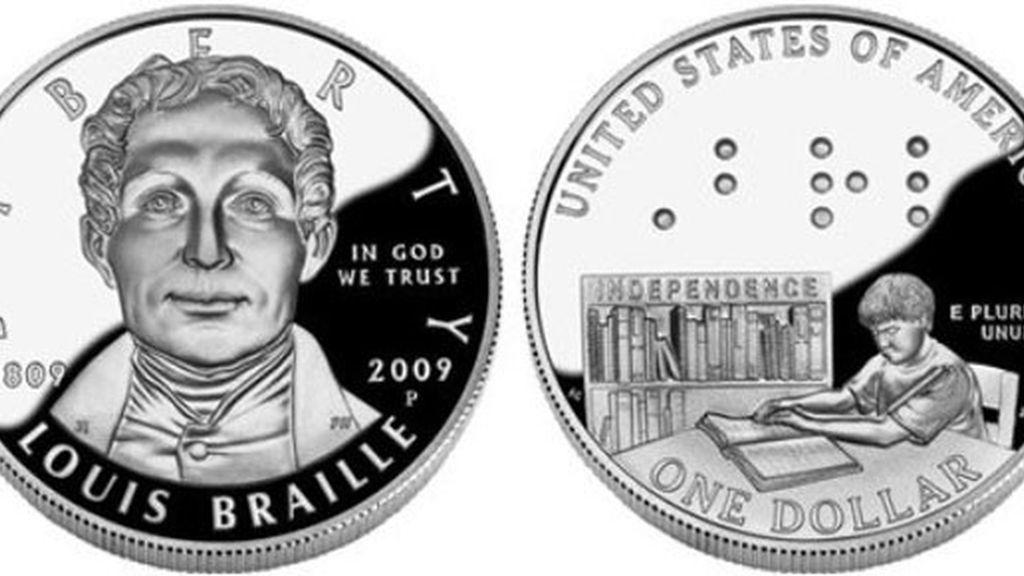 El dólar en Braille