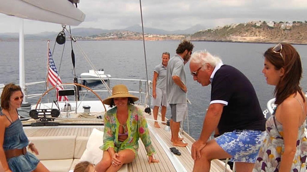 Un día en el velero de Giuseppe Turzi