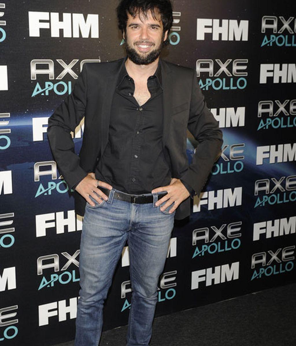El actor Raúl Peña llevó vaqueros