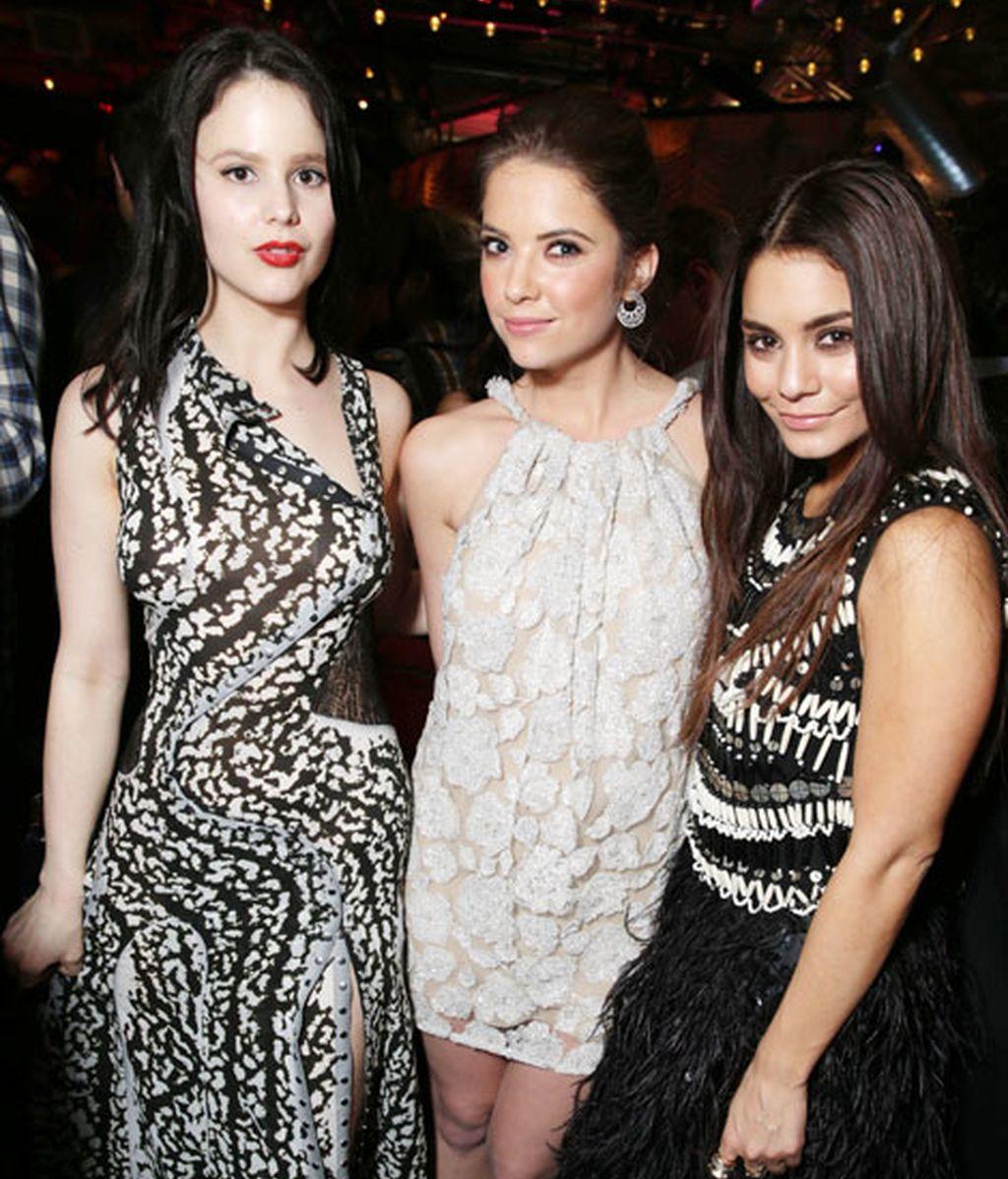 Rachel Korine, Ashley Benson y Vanessa Hudgens, tres protagonistas de la noche