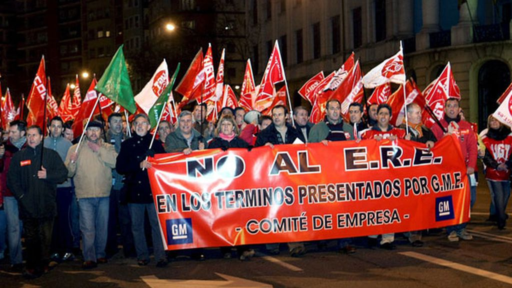 Contra el ERE de General Motors en Zaragoza