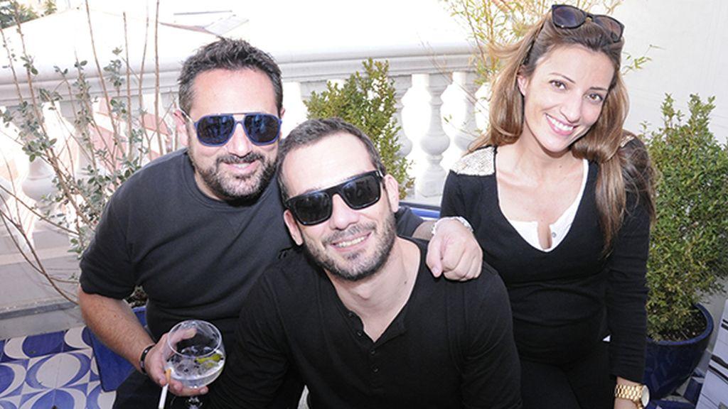 Pepón Nieto, Rubén Núñez y Laura Espinosa