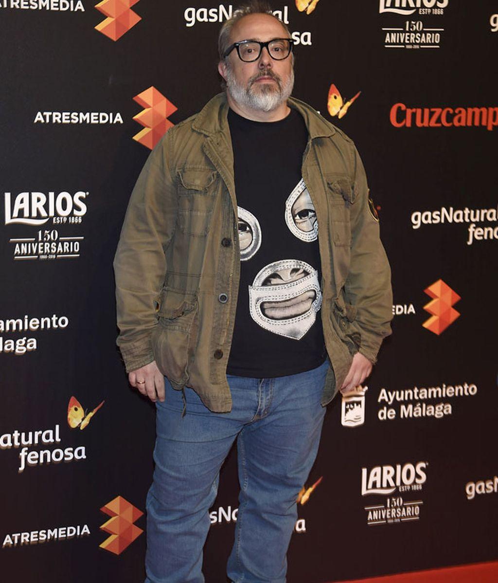 El director de cine Álex de la Iglesia