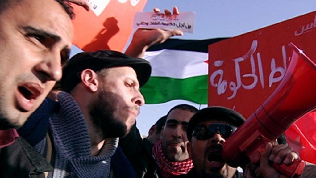 Protesta en Jordania
