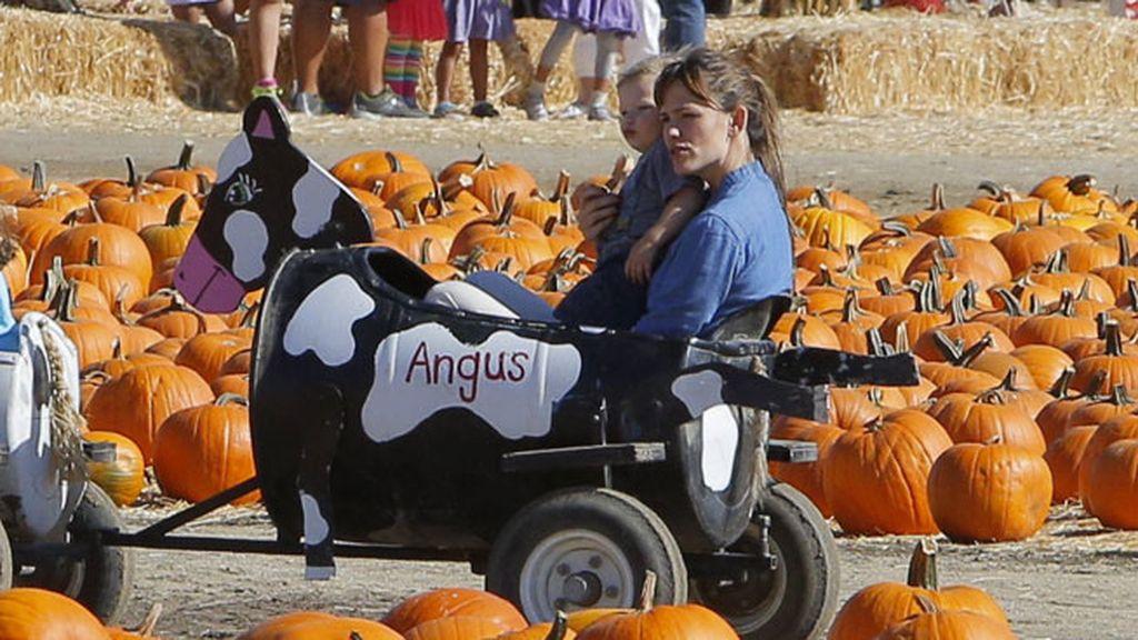 Jennifer Garner disfrutó de un entretenido paseo con su hijo, Samuel