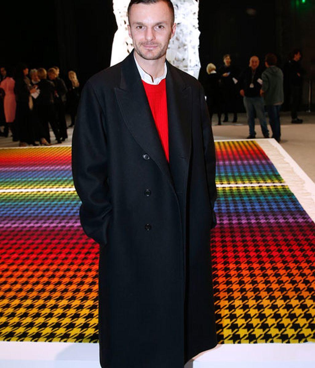 Kriss Van Ashe eligió un abrigo 'oversize'