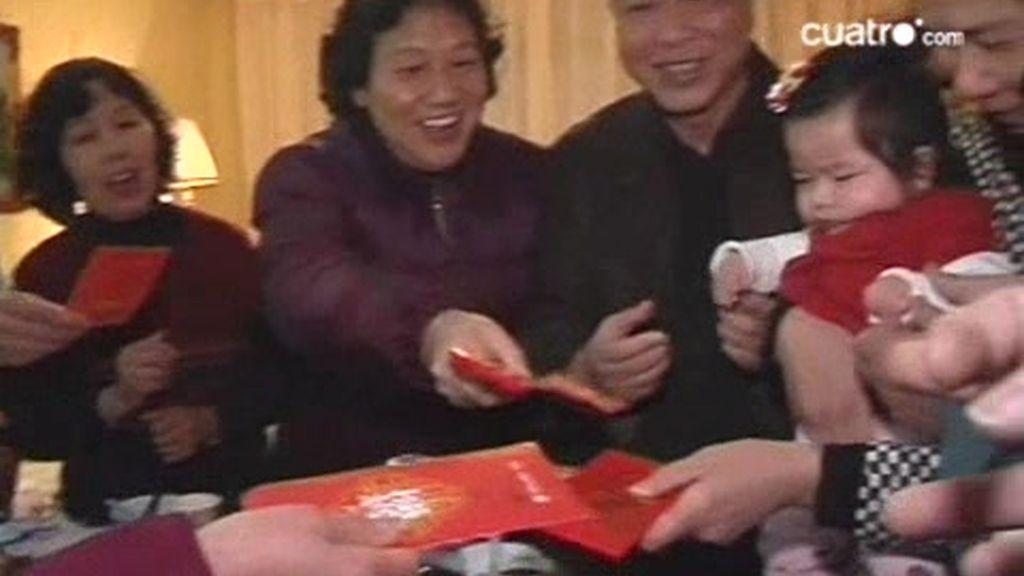 Sanghai. Celebrando el Año Nuevo Chino