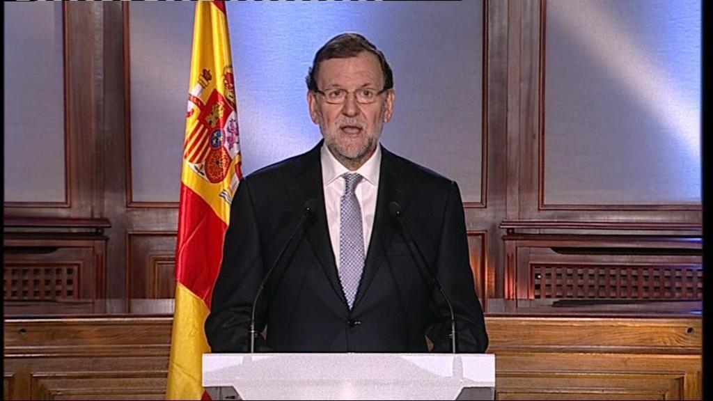 """Rajoy: """"Aplicaremos sólo la Ley, pero toda la Ley"""""""