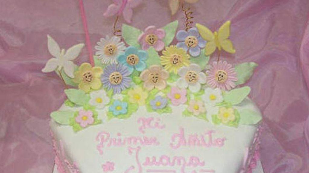 Una tarta 'pink'