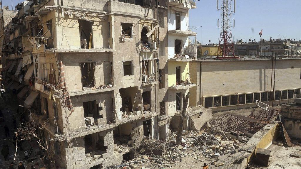 Un coche bomba explota en una zona residencial de la ciudad siria de Aleppo