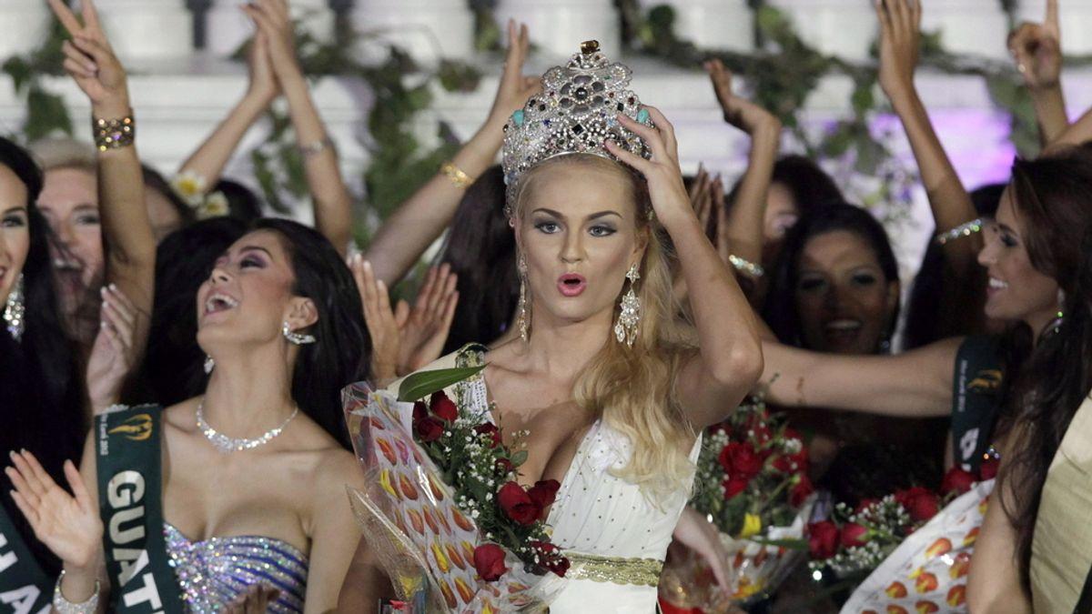 Tereza Fajksova, Miss Tierra 2012