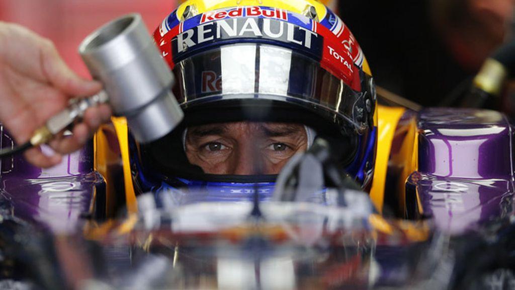 """Webber debuta en la """"pole"""" por primera vez en esta temporada"""