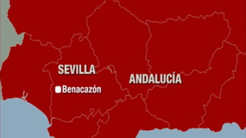 Mueren cuatro operarios en una explosión en la fábrica pirotécnica de Benacazón, en Sevilla