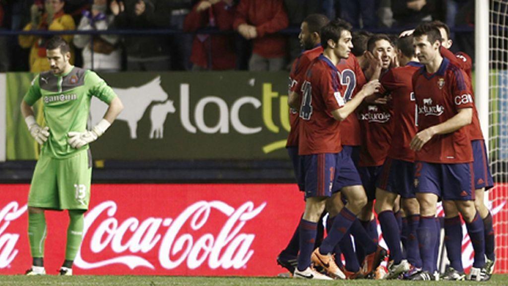 El Osasuna derrota al Espanyol en El Sadar
