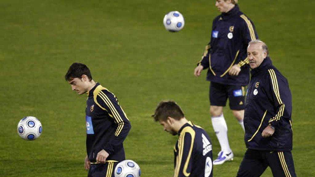 La Selección Española se concentra antes del partido de Turquía