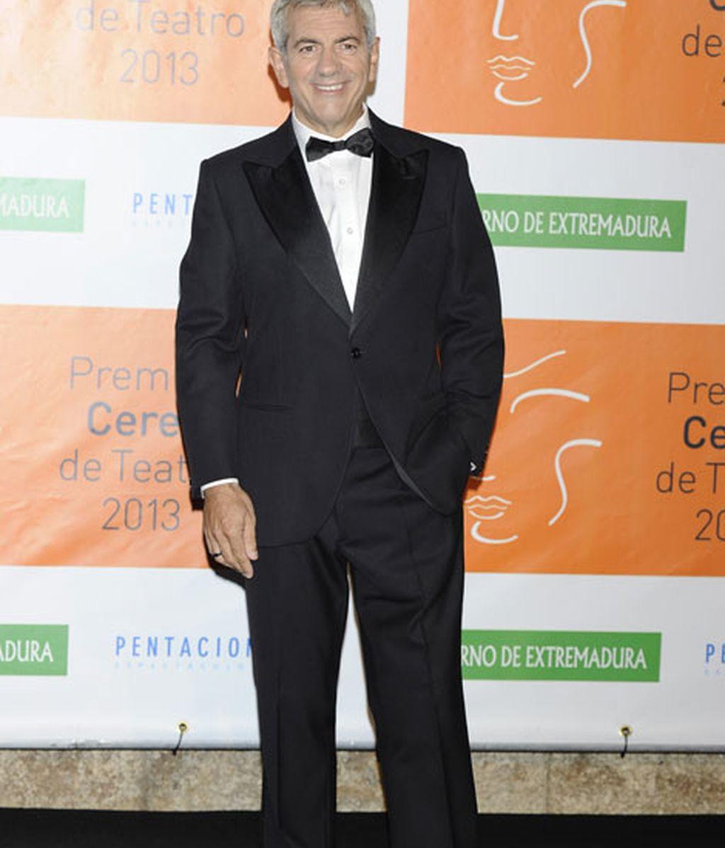 Carlos Sobera, el presentador de la gala