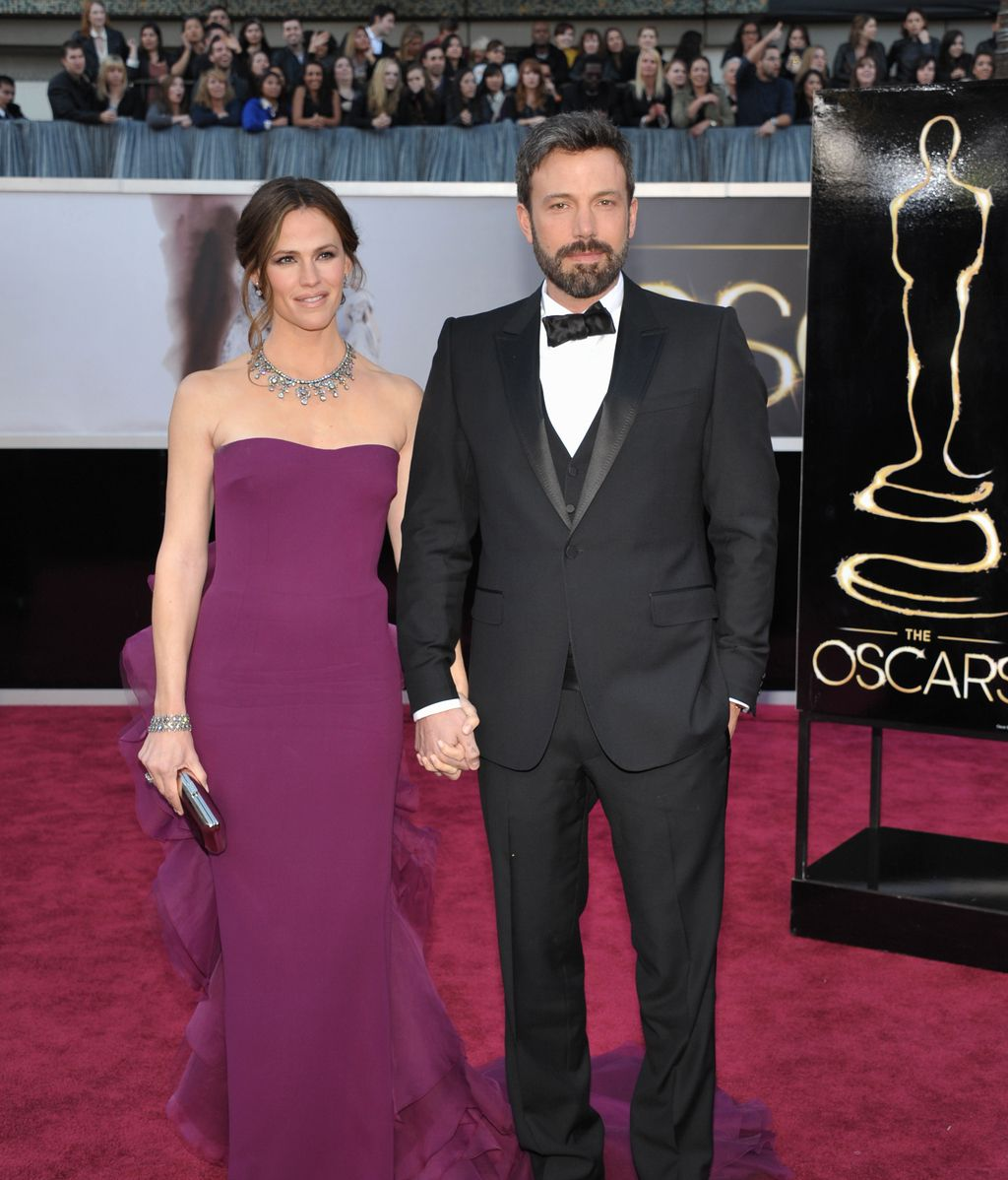 Ben Affleck, junto su mujer, Jennifer Gardner