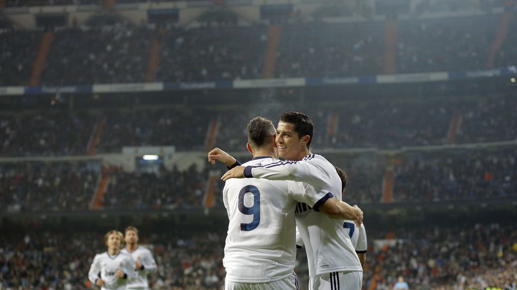Cristiano Ronaldo, Benzema, Real Madrid