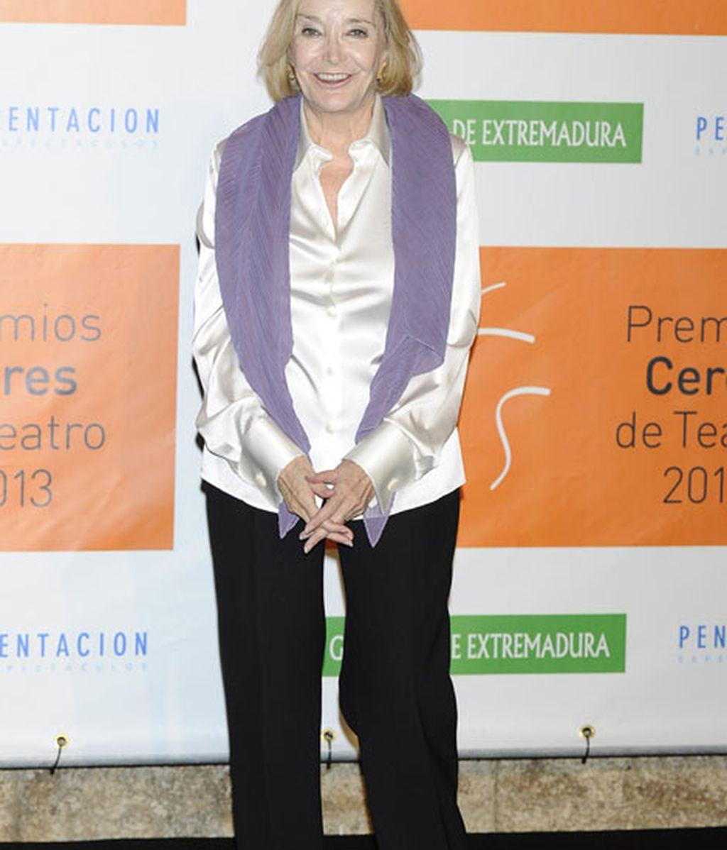 La actriz Nuria Espert se llevo el premio 'Emérita Augusta'
