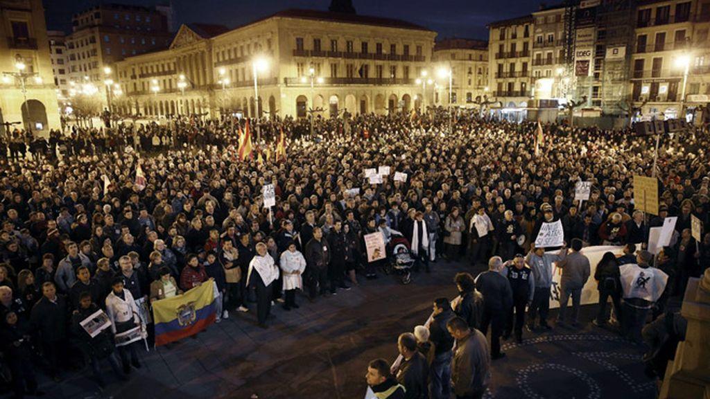 5.000 personas en Pamplona
