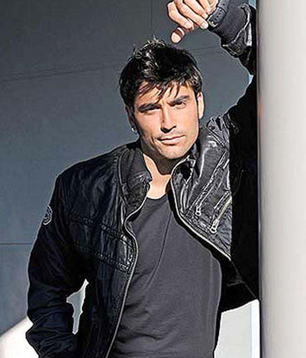 El actor Álex García