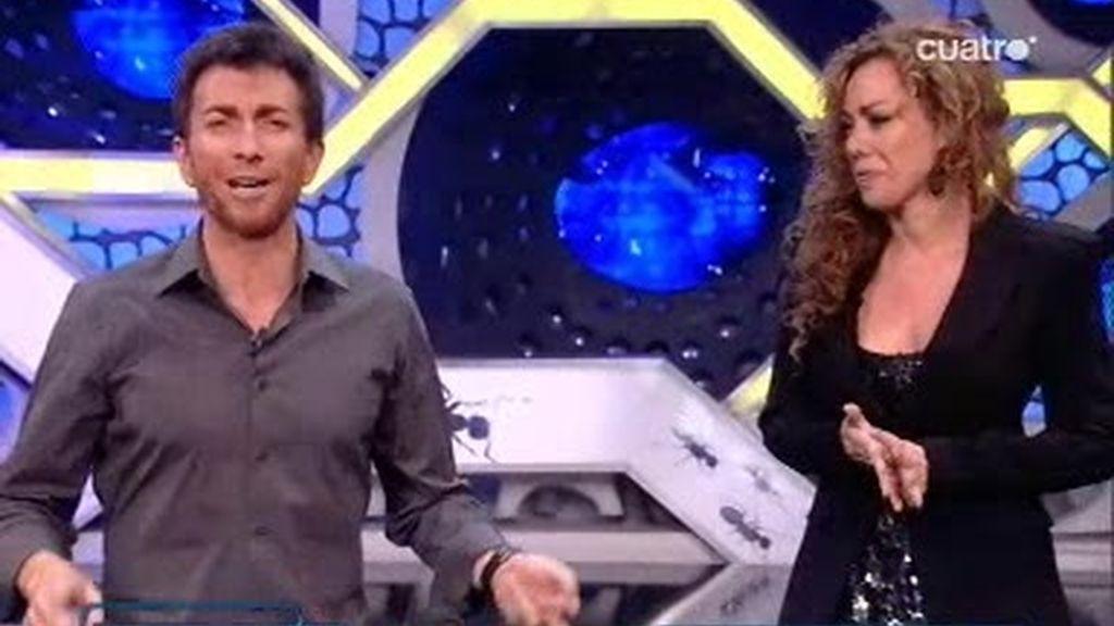 Discusión sobre el futuro entre Raquel Martos y Pablos Motos