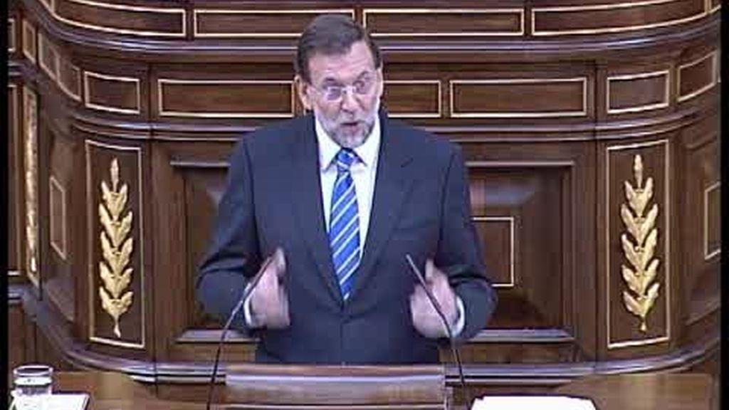 Rajoy pide elecciones anticipadas y Zapatero le reta