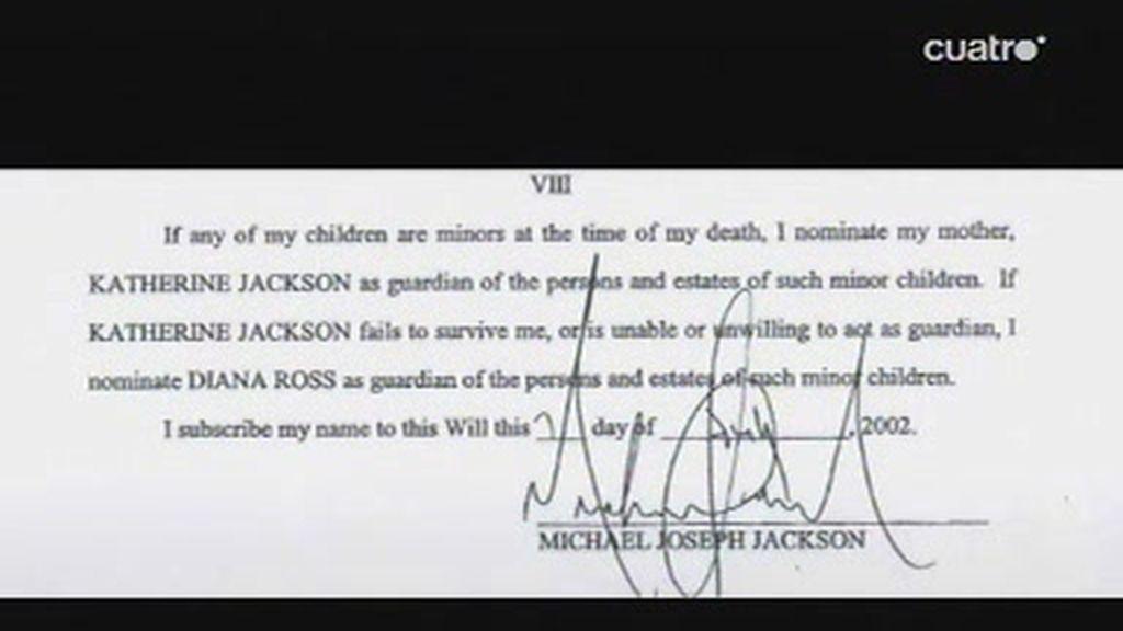 Despedida a Michael Jackson: El testamento, escrito tal día como hoy hace siete años