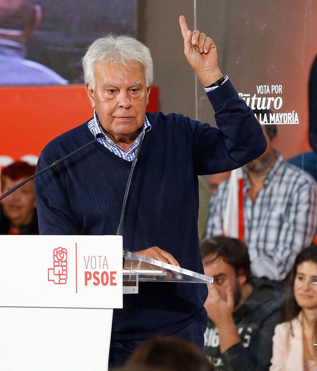 Felipe González entra en campaña
